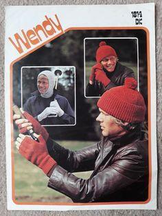a4edbf22437 Balaclava Hat and Gloves Adults DK Wendy Knitting Pattern 1814