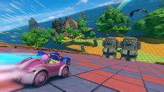 Juegos para Niños: Sonic Racing Transformed, el erizo azul de Sega en un juego de carreras