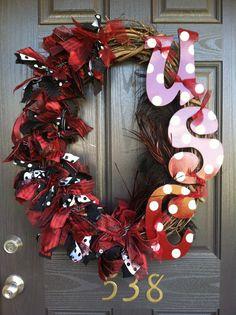 Gamecock Wreath I Made :)