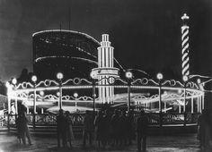 Suihkio illalla 1955 #finland #helsinki #linnanmaki #summer #kesa #visitfinland #huvipuisto #amusementpark #nojespark #puisto #park #nostalgia #oldschool #photograph