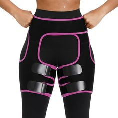 Sweat Thigh Trimmers Leg Shaper Slimming Belt Shaper