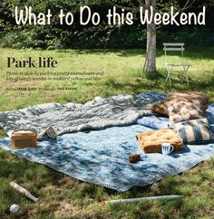 picnic ideas | Must Haves for a Picnic at the Park or in your Backyard | At Home with ...