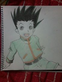 Gon on sketch pad :) Sketch Pad, Hunter X Hunter, Drawings, Anime, Art, Sketch, Anime Shows, Kunst, Portrait