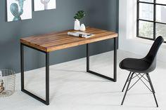Design of Vintage Bureau Kopen? Wood Office Desk, Office Table Design, Wood Desk, Industrial Office Desk, Sideboard Modern, Diy Furniture Building, Furniture Plans, Loft Design, Solid Wood Furniture