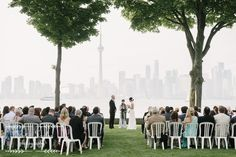 Claudia and Shane – Royal Canadian Yacht Club – Toronto Island Wedding