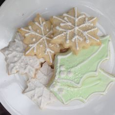 Gluten free assorted decorated holiday cookies by TheArtfulBaker