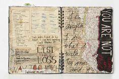 Visual Journal by Los Angeles artist Jennifer Joanou