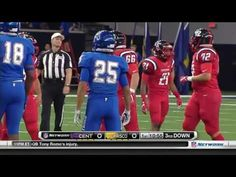 High School Football 2016 Centennial Titans vs Frisco Raccoons - IBOtube