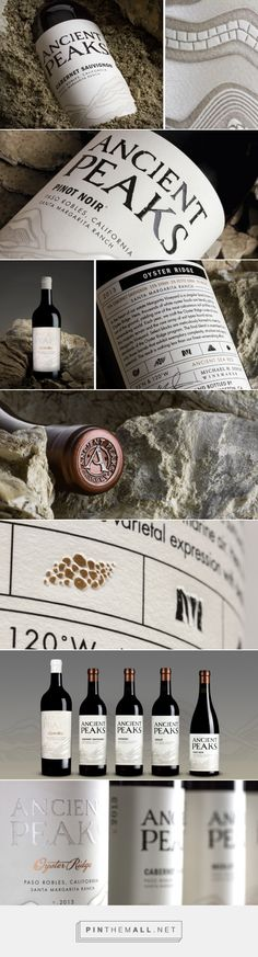 Ancient Peaks Winery - Reigniting An Established Brand - Packaging of the World - Creative Package Design Gallery - http://www.packagingoftheworld.com/2016/03/ancient-peaks-winery-reigniting.html