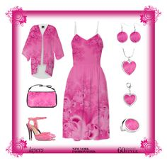 """Soft Pink Frost of Morning"" Layers by artist4god-rose-santuci-sofranko on Polyvore featuring polyvore, fashion, style and Charlotte Olympia Please visit my website for info on purchasing my products and books. www.Artist4God.net Thank you & God bless!"