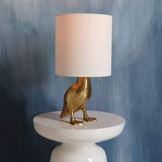 west elm Rachel Kozlowski Mallard Duck Table Lamp
