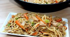 Asian Recipes, Ethnic Recipes, Japchae, Spaghetti, Food And Drink, Chinese, Yummy Food, Cooking, Drink Recipes