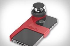 Kogeto Dot Panoramic iPhone Lens ($50) lets you take full 360 degree photos and video using nothing but your phone.