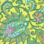 Amazon.com: Rowan fabrics amy butler soul blossoms fabric: dancing paisley, lemon (1/4 m): Arts, Crafts & Sewing