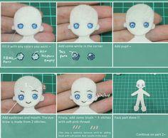 Felt mold tutorial part 1 doll