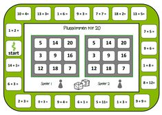 Bingo minsommen - 2 nous taulers de joc: Miss Shanna! Math Games For Kids, Math Activities, Bingo, Numbers For Kids, Daily Math, Cycle 2, Math Work, Math Multiplication, Speech Language Therapy