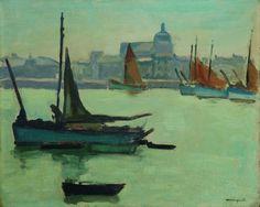 amare-habeo:  Albert Marquet (French, 1875 - 1947) -Port de la Chaume, N/D