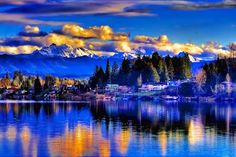 Lake Stevens, WA in Snohomish County; where I spent many happy summers and holidays with family and friends <3