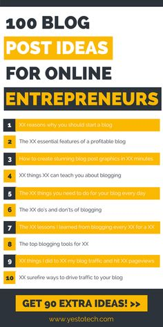 Here are 100 blog post ideas for online entrepreneurs so you never run out of blog post topics again when blogging about online entrepreneurship! blogging for beginners | blog post ideas | blogging | blog | blog ideas | Successful Blogging |Blogging For Beginners | Blogging Strategist | Blogging For Money | Beginning B | Next Level Blogging - New Blogger Coach | Social Media Marketing | Laura Iancu - Blog Strategist | Blogging Tips, Productivity, Traffic, Email & Affiliate Marketing