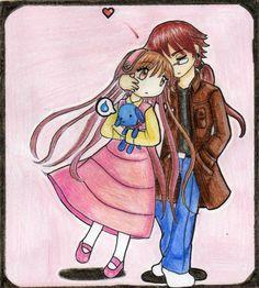 kobato and fujimoto by KUWorld.deviantart.com on @deviantART