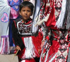 Cute American Indian Boy Dancing by Colorado Sands, via Flickr