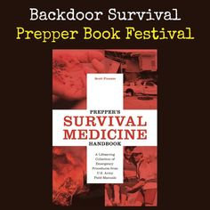 Written by real-life emergency responder Scott Finazzo, Prepper's Survival Medicine Handbook goes way beyond first aid and addresses nitty-gritty methods for treating life-threating medical conditions under survival conditions.   Prepper's Survival Medicine Handbook | Backdoor Survival