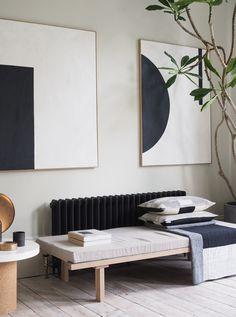 Living Room Ideas Industrial - In the neighbourhood two elegant, minimal London homes catesthill com. Interior Design Inspiration, Decor Interior Design, Design Ideas, Design Trends, Design Furniture, Interior Lighting, Home Design, Lighting Ideas, Interior Ideas