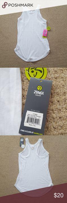 Spotted while shopping on Poshmark: NWT Zumba Aztec Crew Neck Racerback tank! #poshmark #fashion #shopping #style #Zumba Fitness #Tops