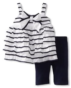 Amazon.com: Kate Mack Baby-Girls Infant Seaside Petals Tunic: Clothing
