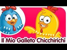 Il Mio Galletto Chicchirichì - Canzoni per bambini e bimbi piccoli - YouTube Baby Dance Songs, Dancing Baby, Kids Songs, Nursery Rhymes In English, Lottie Dottie, Canti, Baby Chicks, Geek Stuff, Video