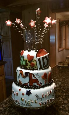 One Direction Cake  Email Broncosfans@verizon.net