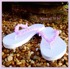 Are you ready for summer with our comfy flip flops? What is your favorite color? Visit our web shop on www.etsy.com/shop/yarnwire