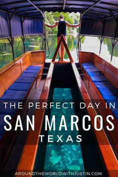 How to Spend the Perfect Day in San Marcos Texas - - Your travel guide to a perfect day in San Marcos Texas including amazing eats, outdoor adventure, art and breweries from travel writer Justin Walter. Texas Vacations, Texas Roadtrip, Texas Travel, Travel Usa, Vacation Trips, San Marcos Texas, San Antonio, Texas Tourism, New Braunfels Texas