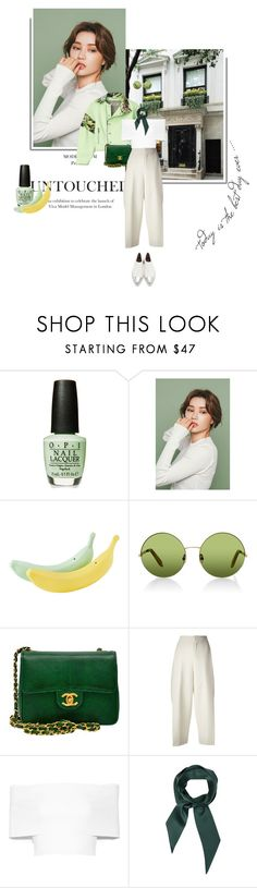 """""""Scent of Spring"""" by aleessarm ❤ liked on Polyvore featuring Rachel, Victoria, Victoria Beckham, Chanel, Chloé, Rosetta Getty, Marni, victoriabeckham, chloe, springfashion and marni"""