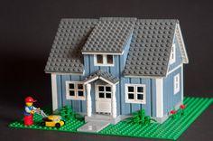 Sweet little blue house! Swedish sand blue villa 2 by Thomas Selander, via Flickr