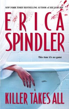 Killer Takes All by Erica Spindler, http://www.amazon.com/dp/0778323056/ref=cm_sw_r_pi_dp_bO8iqb07A9G2X