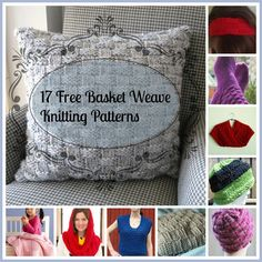 17 Free Basket Weave Knitting Patterns -Basket weave patterns are perfect easy knitting patterns for beginners. They teach you the basics of knitting and purling while still looking intricate and impressive. Because we are such fans of this incredible and classic pattern, we have compiled 17 Free Basket Weave Knitting Patterns for you to try. Whether you want to learn how to knit a scarf, sweater, or pillow, we have a variety of free knitting patterns for you to get started on.