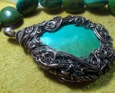 Jewelry by Szarka--if you are into wire wrapping, you NEED to check out this woman's work!!!  She is AMAZING!!!