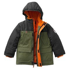 ZeroXposur Hunter Colorblock Puffer Jacket - Boys 4-7