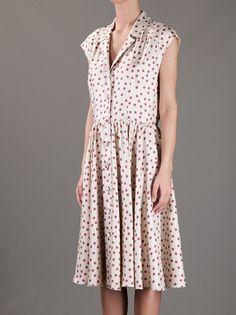 DOLCE & GABBANA - polka dot shirt dress