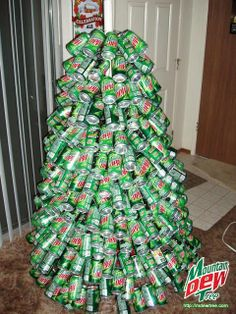 Image detail for -Tree 2.0 - Mountain Dew Christmas Tree
