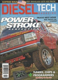 Diesel Tech magazine Power stroke perfection Tuners chips and programmers Trucks