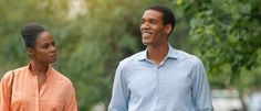 """Tika Sumpter ( left) plays Michelle Robinson, on her first date with Barack Obama (Parker Sawyers), in the film, """"Southside With You. Michelle Obama, Date, New Movies, Good Movies, 2016 Movies, Sundance 2016, First Ladies, Cinema, Movies"""