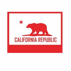 A personal favorite from my Etsy shop https://www.etsy.com/listing/512576263/california-state-flag-decal-state-flags
