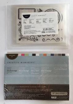 New Creative Memories Diva Theme Stickers Plus Diva & Grunge Milestone Kit #CreativeMemories
