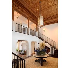 open space ~ Spanish Revival Estate Home With Southern Californian Architectural Flavour Spanish Style Homes, Spanish Revival, Spanish House, Spanish Colonial, Ibiza, Spanish Interior, Hacienda Style, Interior Decorating, Interior Design