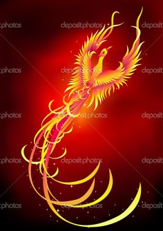 The Mythological Bird Phoenix Tattoos | Phoenix Tattoo Image - Phoenix Tattoo Picture, Graphic, & Photo - Sunn ...