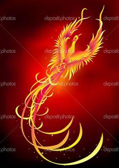 The Mythological Bird Phoenix Tattoos   Phoenix Tattoo Image - Phoenix Tattoo Picture, Graphic, & Photo - Sunn ...