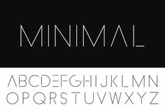 Design Room, Design Studio, Design Websites, Typography Logo, Logos, Abc Font, Thin Fonts, Minimal Font, Types Of Lettering