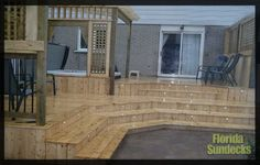 Montreal Deck in Treated Wood in West Island of Montreal Best Deck Ideas from Builder, Designer Contractor: https://www.floridasundeck.com